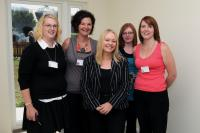 Cathy Jamieson with some of us